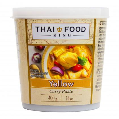 Паста карри желтая THAI FOOD KING 400г